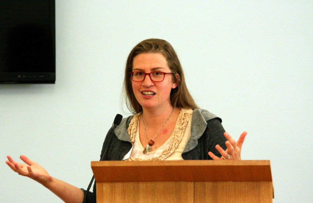 Rev. Abby Mohaupt is a Presbyterian minister and a PhD student at Drew University in climate change and ecofeminist theology. She splits her time between California and New Jersey.